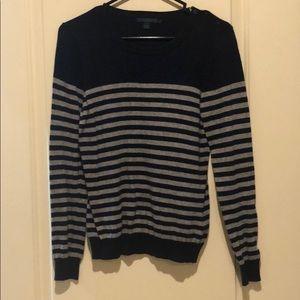 Boden Crewneck Sweater Navy/Gray Size 12